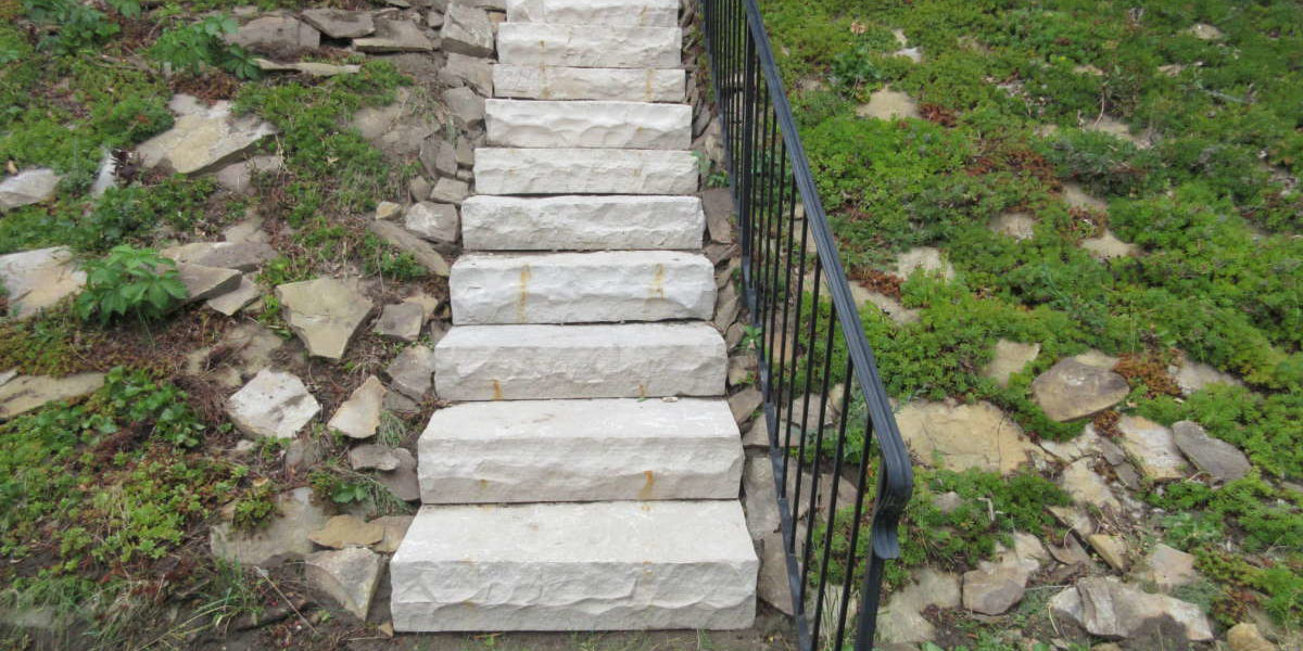 Natural Custom Cut Steps