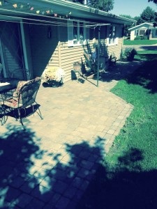 Doll Back Patio and Walkway