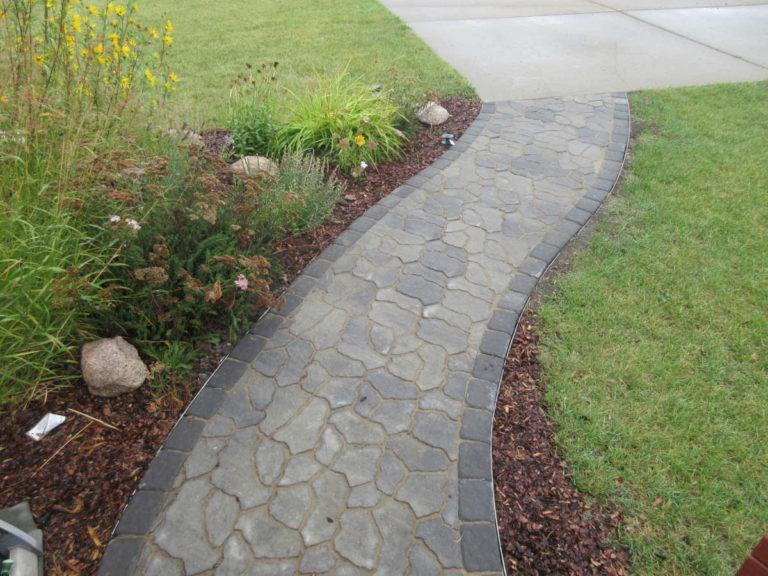 Custom Front Walkway